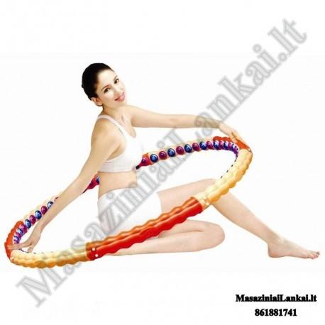 Masažinis magnetinis lankas Health Hoop 28