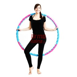 "Masažinis gimnastikos lankas ""Hoop Double Grade Magnetic"" SPORTS  6008"